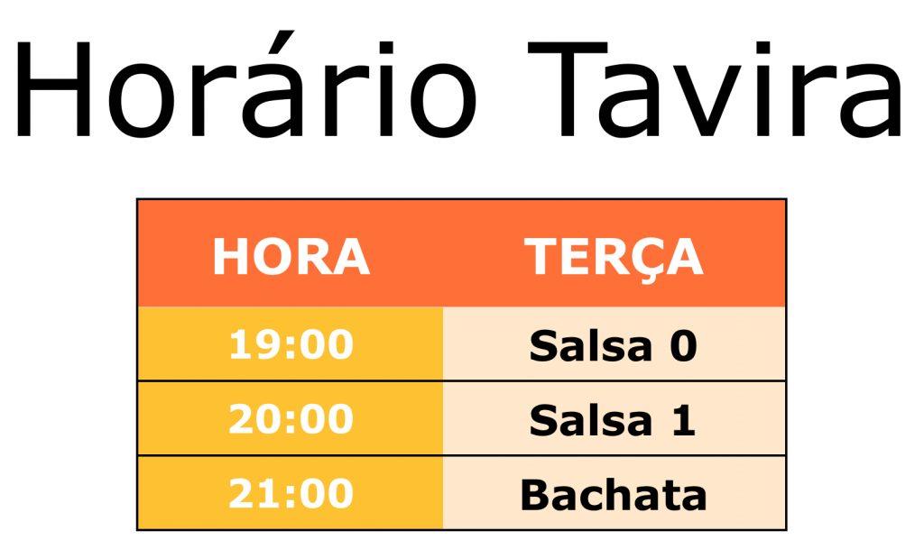aulas de salsa e bachata em Tavira